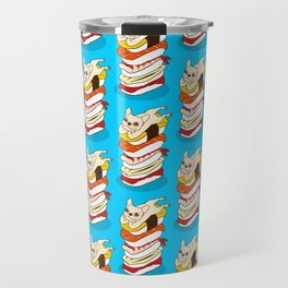 It is Japanese sushi night for the cute French Bulldog Travel Mug