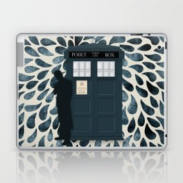 Dr Who and his Timey-Wimey Vehicle Laptop & iPad Skin