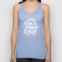Have a Hippie Day Unisex Tank Top