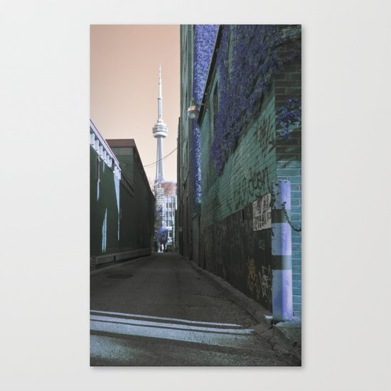 shining spire... Canvas Print