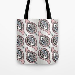 Pastel Paisley Tote Bag