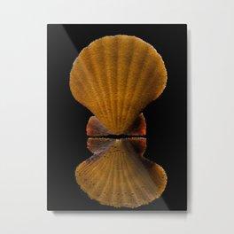 Yellow Shell - 177 Metal Print