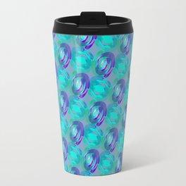 Blue Marbles Travel Mug