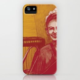 The vocalist iPhone Case