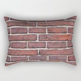 Dark Brick Rectangular Pillow