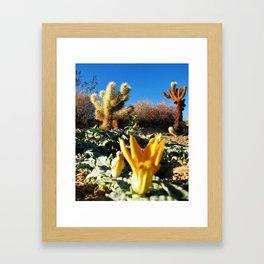 Joshua Tree National Forest Series 1 Framed Art Print