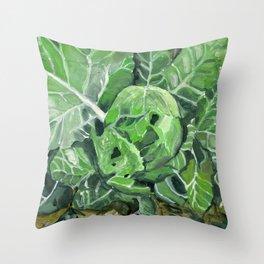cabbage Throw Pillow
