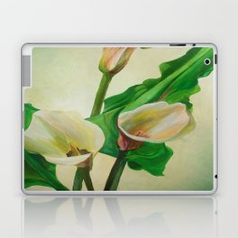 Three Calla Lilies Laptop & iPad Skin