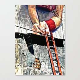 Arms with Ladder Canvas Print