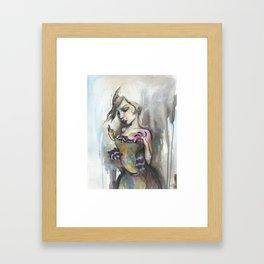 sweater kittens Framed Art Print