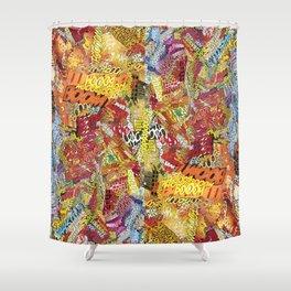 Make a Boom  Shower Curtain