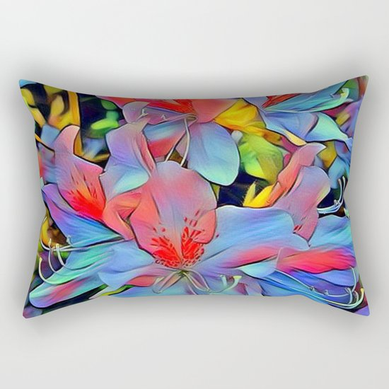 Floral ArtStudio - wonderful flowers Rectangular Pillow