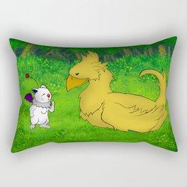 Final Friendship Rectangular Pillow
