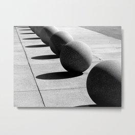 Fall in Line Metal Print