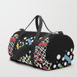 Ticker Tape Geometric Duffle Bag