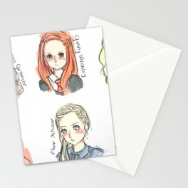 HP Inspired Characted Sketches Stationery Cards