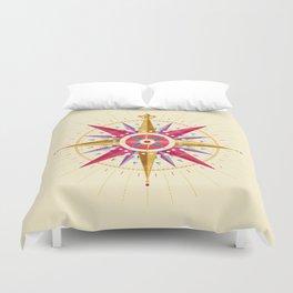Compass Rose Duvet Cover