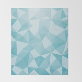 Geometric pyramids V3 Throw Blanket