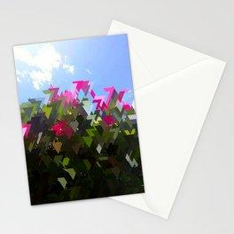 Glitchin' Flowers Stationery Cards