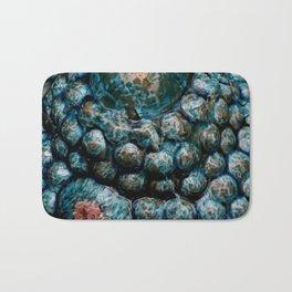 Blue bowls Bath Mat