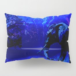 ELEPHANT LIGHTNING AND AFRICAN NIGHTS Pillow Sham