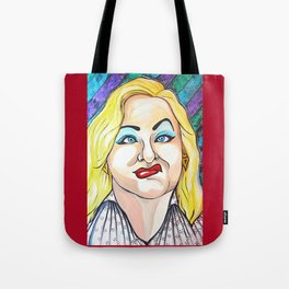 Hatchet Face Tote Bag