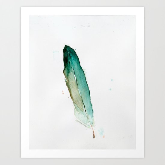 Feather No. 2 Art Print