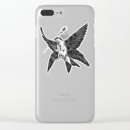 House Martin Clear iPhone Case