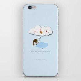 Abre tu mente, quizás no sea una locura… iPhone Skin