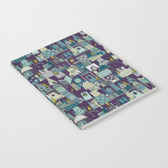 space rocket construction Notebook