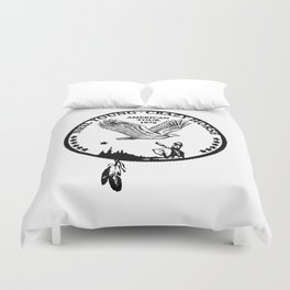 neil young crazy horse american tour 1976 Duvet Cover