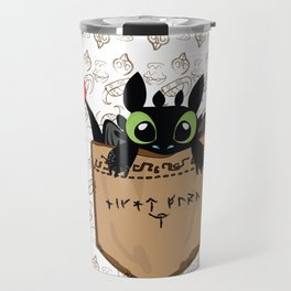 Toothless a viking dragon Travel Mug