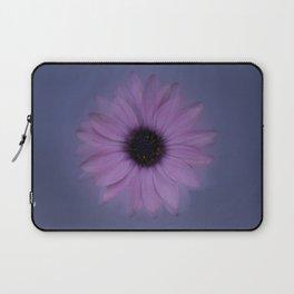 Shabby-chic African Daisy Flower Laptop Sleeve