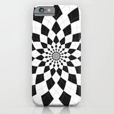 Black & White Argyle Slim Case iPhone 6s
