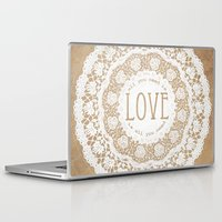 all you need is love Laptop & iPad Skins featuring All You Need is Love by Jenndalyn