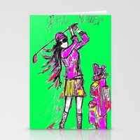 girl power Stationery Cards featuring Girl Power by sladja