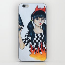 Protect Camgirl At All Costs iPhone Skin
