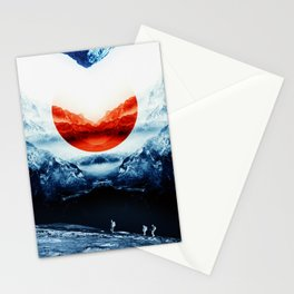 mission blue Stationery Cards