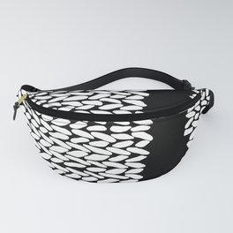 Missing Knit On Side Fanny Pack
