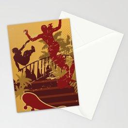 Skateboard Summer Stationery Cards