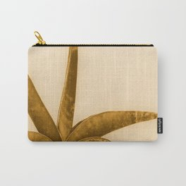 Succulent Plant In Brown Tones #decor #society6 #homedecor #buyart Carry-All Pouch
