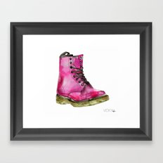 Dr Martens Framed Art Print