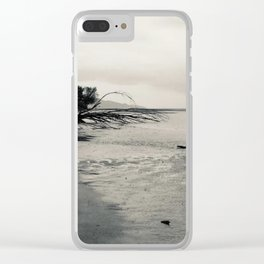 Erosion - Weathered Endless Beauty 4 Clear iPhone Case