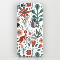 australia iPhone & iPod Skins featuring Australia by Mel Armstrong