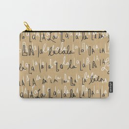 Falalalala holiday trend Carry-All Pouch