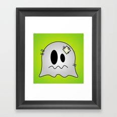 Cute Little Ghost Framed Art Print