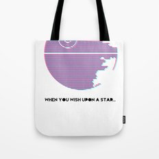 Wish Upon A Death Star Tote Bag