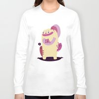 mother Long Sleeve T-shirts featuring Mother by Maria Jose Da Luz