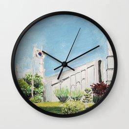 Seoul South Korea LDS Temple Wall Clock