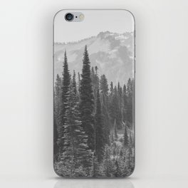 Escape to the Wilds - Black and White Nature Photography iPhone Skin